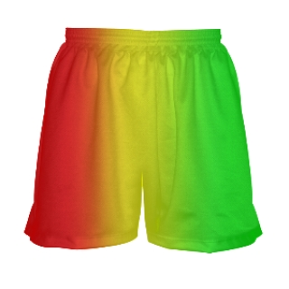 Rasta Flag Lacrosse Shorts for Girls