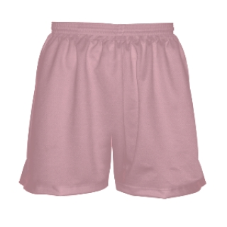 Girls Pink Lacrosse Shorts