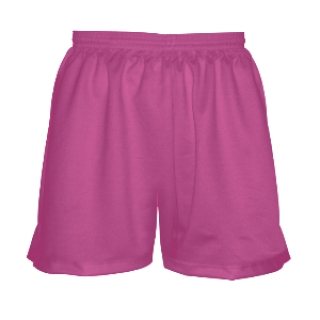 Girls Hot Pink Lacrosse Shorts