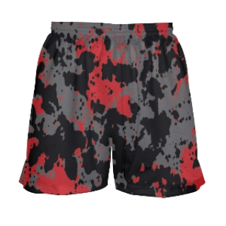 Girls Paint Splatter Lacrosse Shorts