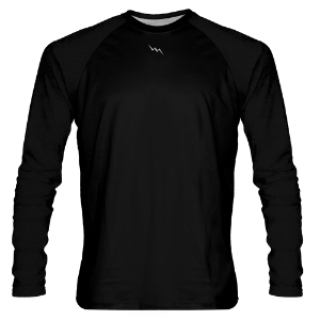Black Long Sleeve Shooter Shirts