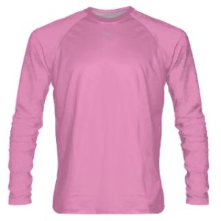 Pink Long Sleeve Shooter Shirts