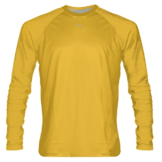 Gold Long Sleeve Shooter Shirts