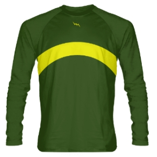 Forest Green Long Sleeve Shooter Shirts