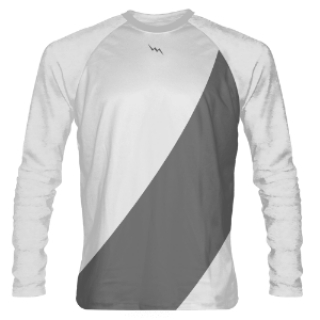 White Long Sleeve Shooter Shirts