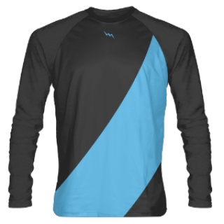 Charcoal Grey Long Sleeve Shooter Shirts