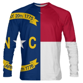 North Carolina Long Sleeve Shooter Shirts