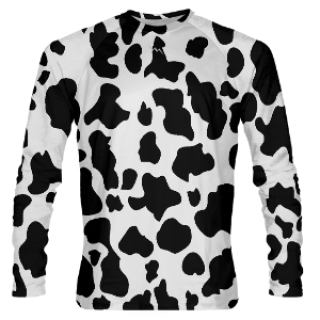 Long Sleeve Cow Shooter Shirts