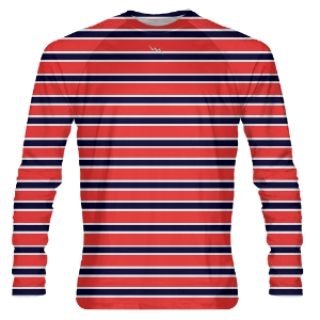 Stripe Long Sleeve Shooter Shirts