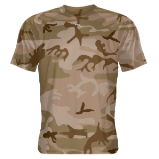 Desert Camouflage Shooter Shirts