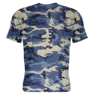 Blue Camouflage Shooter Shirts