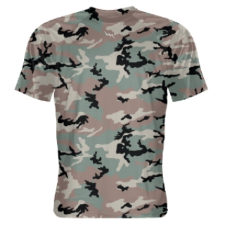 Green Camo Shooter Shirts