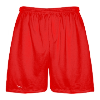 Red Lacrosse Shorts