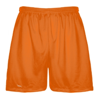 Orange Lacrosse Shorts