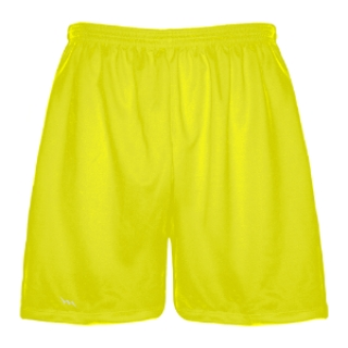Yellow Lacrosse Shorts - Boys Lax Shorts