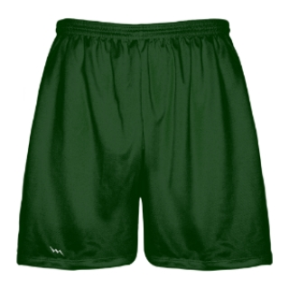 Forest Green Lacrosse Shorts