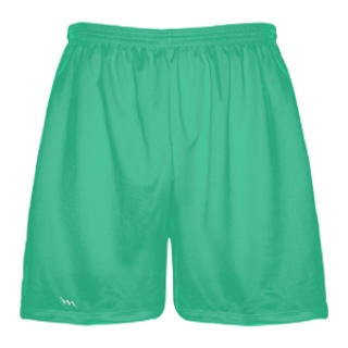 Teal Lacrosse Shorts