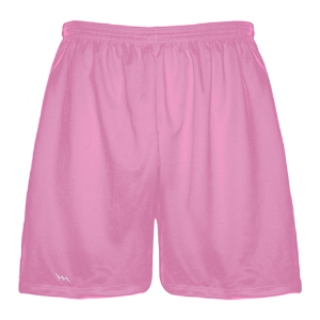 Pink Mens Lacrosse Shorts