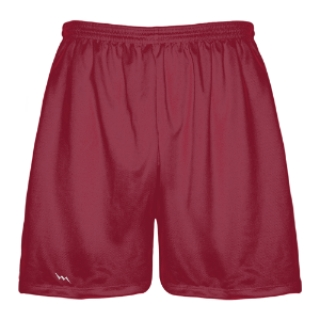 Cardinal Red Lacrosse Shorts