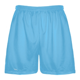 Powder Blue Lacrosse Shorts