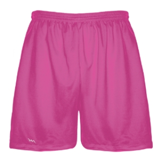 Hot Pink Mens Lacrosse Shorts