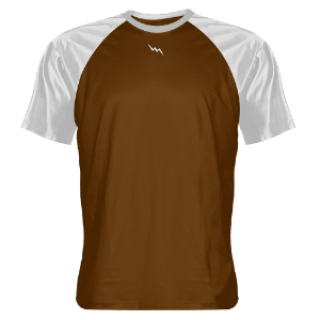Brown and White Shooter Shirts