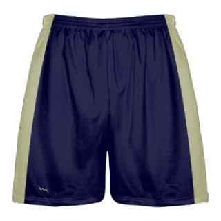 Blue and Vegas Gold Lacrosse Shorts