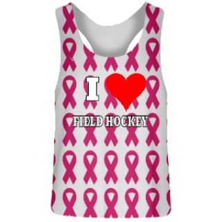 Cancer Ribbon Field Hockey Reversible Pinnies