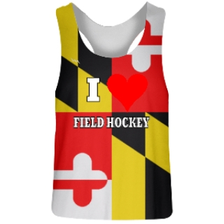 Big Maryland Flag Field Hockey Jerseys