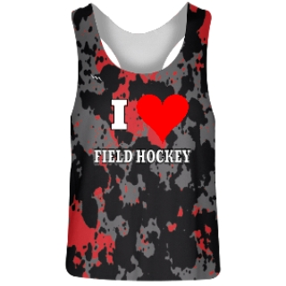 Paint Splatter Field Hockey Pinnies