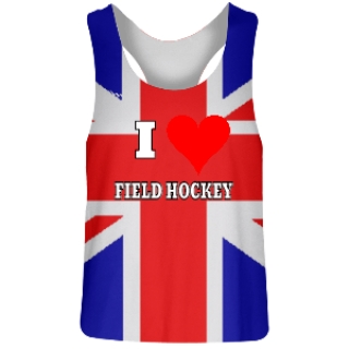 British Flag Field Hockey Pinnies