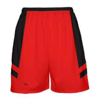 Red and Black Basketball Shorts