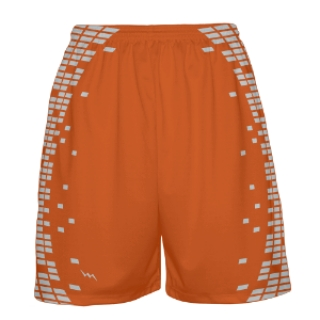 Orange Basketball Shorts