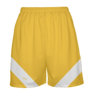 Gold Basketball Shorts
