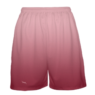 Cardinal Red Basketball Shorts Fade