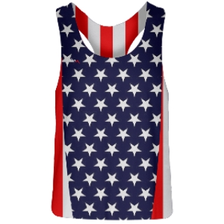 Stars and Stripes Field Hockey Pinnies