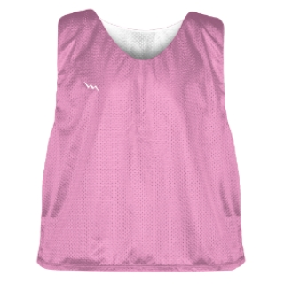 Pink and White Soccer Pinnies
