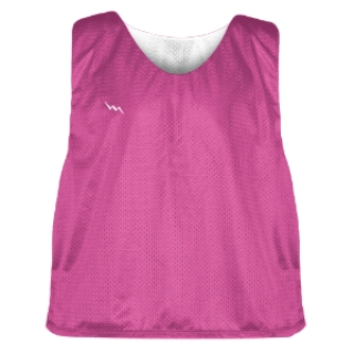 Hot Pink Soccer Pinnies