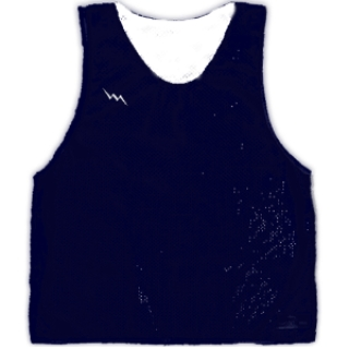 Navy Blue Basketball Pinnies