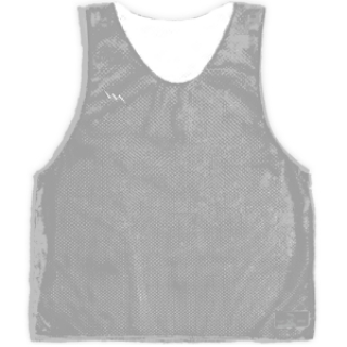 Silver Basketball Pinnies