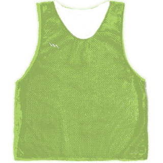 Lime Green Basketball Pinnies