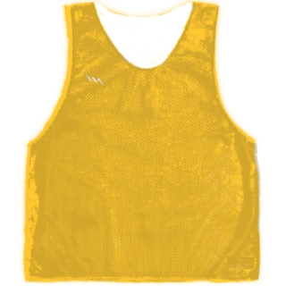 Athletic Gold Basketball Pinnies