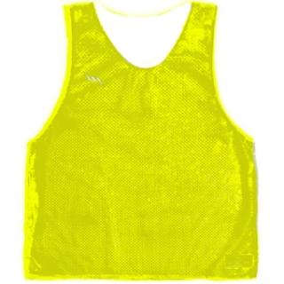 Fluorescent Yellow Basketball Pinnies