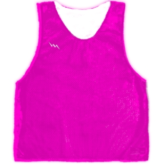 Fluorescent Pink Basketball Pinnies