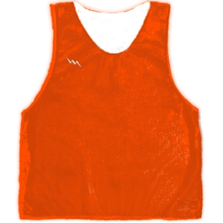 Fluorescent Orange Pinnies