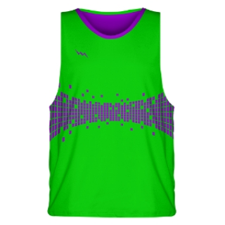 Neon Green Basketball Jerseys