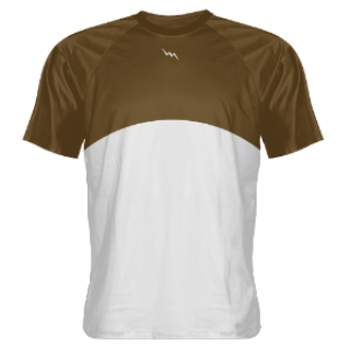 Brown Basketball Shooter Shirts
