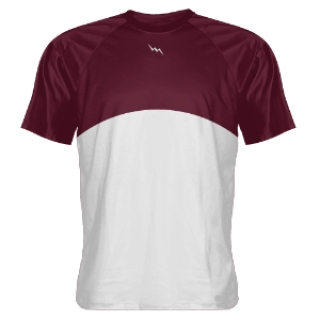 Maroon Basketball Shooter Shirts