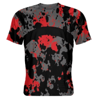 Paint Splatter Sublimated Basketball Shooter Shirts