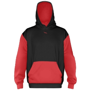 Custom Hooded Sweat Shirts Black
